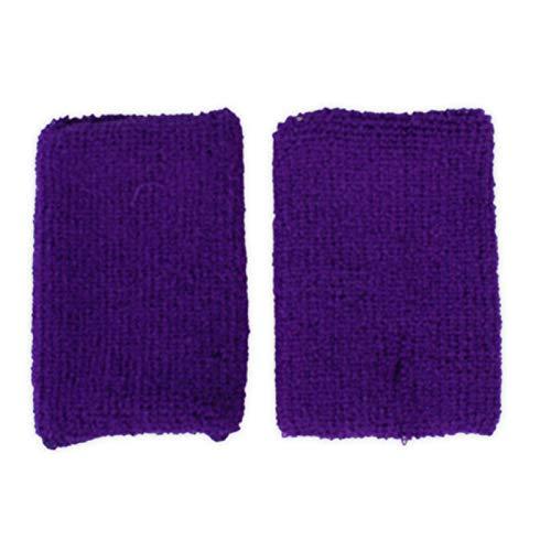 adam & eesa 1 Paar Unisex Schweißbänder Absorbierende Schweissband für Tennis Squash Badminton Turnhalle Basketball