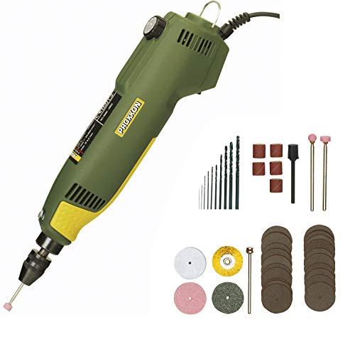 PROXXON Multifunktionswerkzeug, Feinbohrschleifer FBS 240/E mit Einsatzwerkzeugen, 43-teiliges Zubehör-Set, 5000-22000/min, 230 V, 28472