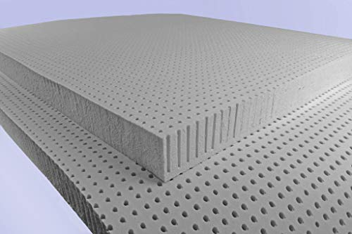 Organic Charcoal Infused Natural Latex Mattress Topper (Global Organic Latex