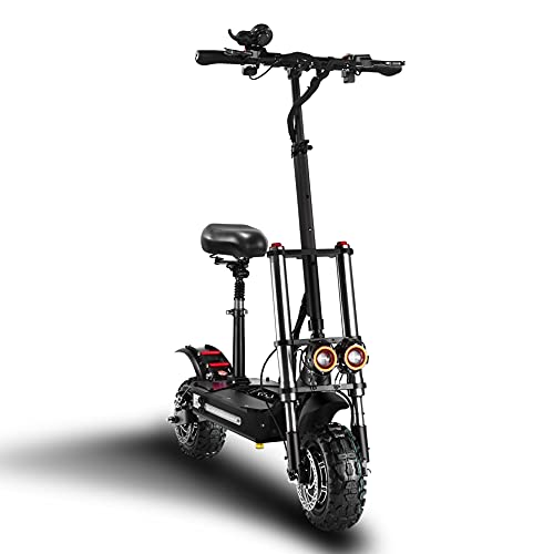 LYHQSW S3 Electric Scooter, Max Speed 55MPH, 60...