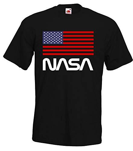 TRVPPY NASA USA - Camiseta para hombre colores, talla S-5XL