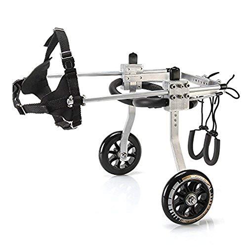 犬の歩行器 犬 ペット 車椅子 後肢 リハビリ 調整可能 L