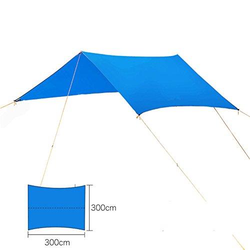 Meijunter Portable Tarp Abri Tapis Hamac étui pour Imperméable Crème Solaire Voyage en Plein air Camping Randonnée