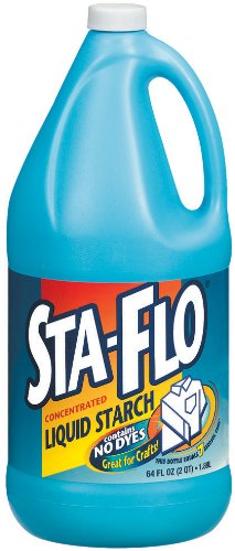 Sta-Flo Liquid Starch, 64 Ounce (Pack of 6)