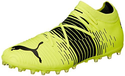 Puma Future Z 3.1 MG, Zapatillas de fútbol Hombre, Yellow Alert Black White, 43 EU