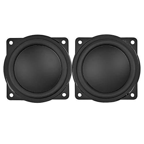 2pcs 2inch Mini Audio Altavoces Portátiles 4ohm 20w Altavoz Bluetooth De Rango Completo para DIY Home Theater