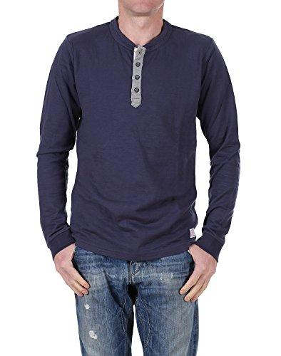 Jack jones 7–8-9 & lS tee-shirt à manches longues number tTT - Bleu - X-large