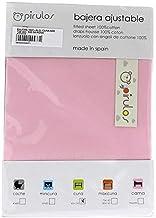 Color Rosa Pirulos S/ábana Bajera Ajustable de Alta Calidad 100/% Algod/ón para Maxi Cuna de 80 x 140 cm//S/ábana Bajera Maxicuna Beb/é Alta Calidad
