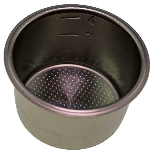 Krups ms-0001435Metal 4taza cesta de filtro