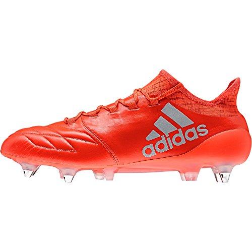 adidas Herren X 16.1 Fg Leather S81973 Fussballschuh, Multicolore Solred Silvmt Hirere, 39 1/3 EU