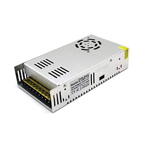 MEISHILE DC 12V 40A 480W Fuente Alimentacion Transformador Interruptor 110/220V AC to...