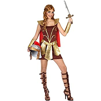 Atosa - Disfraz de mujer gladiadora de roma, XL (38772): Amazon.es ...