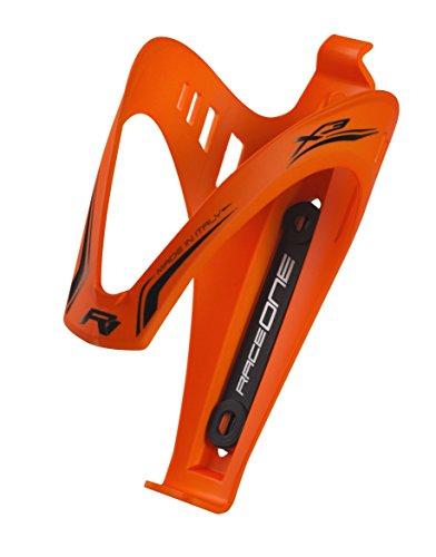 Raceone, Porta borracce per bicicletta Unisex adulto, Orange Fluo, Unica