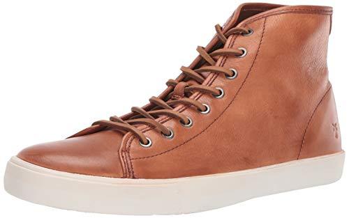 Frye Men's Brett HIGH Sneaker, Cognac, 7 M