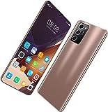 Outskirts Smartphone sin SIM, teléfono Inteligente Note60pro, Pantalla Grande de Alta definición de 7.1 Pulgadas IP68 / 12GB + 512GB, reconocimiento Facial/OTG/GPS/FM, teléfono móvil Barato