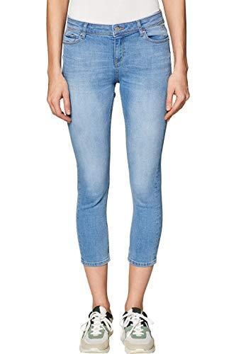 ESPRIT Damen 049EE1B004 Skinny Jeans, Blau (Blue Bleached 904), W27 (Herstellergröße: 27/25)