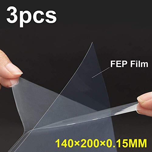 3PS FEP Film FEP Folie für DLP LCD Photonendrucker 0,15 mm hohe Durchlässigkeit