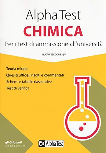 Alpha Test chimica. Per i test di ammissione all'università
