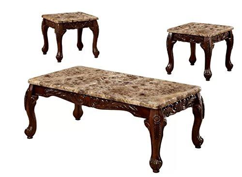 Astoria Grand Albertus 3 Piece Coffee Table Set (Oak)