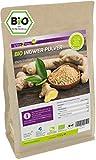 Bio Ingwer Pulver 1 kg im Zippbeutel - 100% Naturbelassen - Ökologischer Anbau - Glutenfrei - Ingwerpulver - Premium Qualität