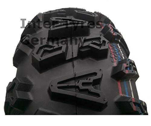 HAKUBA ATV Quad Buggy - Neumático (25 x 10-12, P390, 25 x 10,00-12)