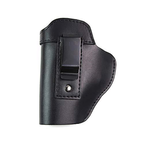 YUJIA Funda, Funda De Cuero para Pistola Funda Universal para Pistola Oculta Airsoft para 17 19 M9 M92 1911 P226,Left Hand