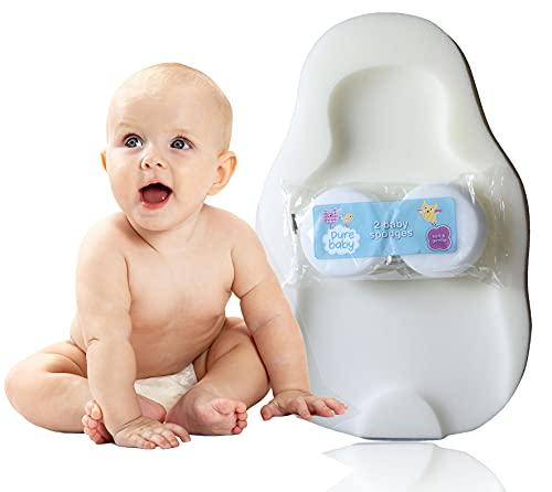 Baby-Badewannenstütze aus Schaumstoff mit Schaumstoff, bequem, weich, für Babys