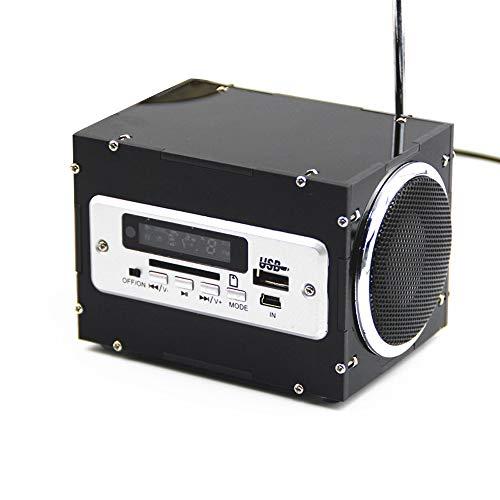 KKmoon Mini Electronique Stéréo Enceinte DIY Kit Sound Amplificateur avec Chargeur