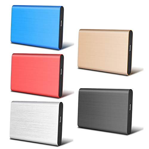 Disco Duro Externo 2tb USB 3.1 para Mac, PC,MacBook, Chromebook,...
