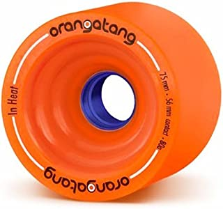 Loaded(ローデッド) ウィール ORANGATANG IN HEAT/Orange-75mm/80A [並行輸入品]