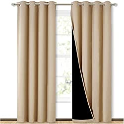 one of their best and most expensive selection of soundproof curtains are their full shading design - Best Soundproof Curtains