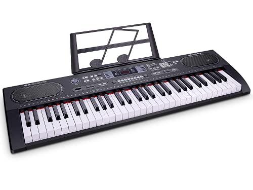 WOSTOO Piano Keyboard 61-Key Digital Electric Music- Portable Electronic Keyboard for...