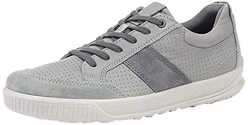 ECCO Herren Byway Slip On Sneaker, Wild Dove Wild Dove Titanium 59142, 43 EU