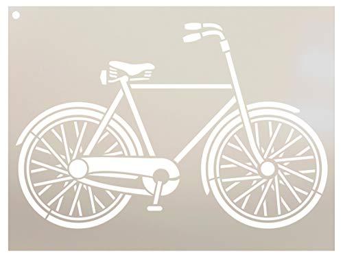 Fahrrad Schablone von studior12| Basic Vintage Art–wiederverwendbar Mylar | Malerei, Kreide, Mischtechnik | Vorlage, für Journaling, DIY Home Decor–stcl1056_ 1. Größe wählen 11.5