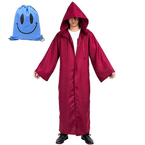 Myir Capa con Capucha de Halloween para Hombre, Disfraz de Caballero para...