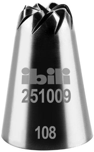 IBILI 251009 - Bocchetta per sac-à-Poche a Forma di Fiore, 9 mm