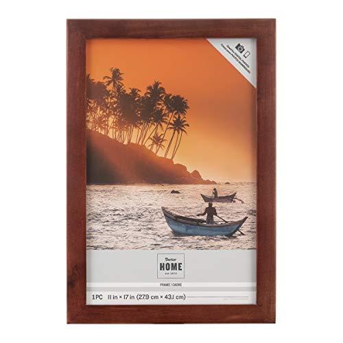 Darice Espresso, Wood Frame, Size to Hold 11x17-Inch Photo
