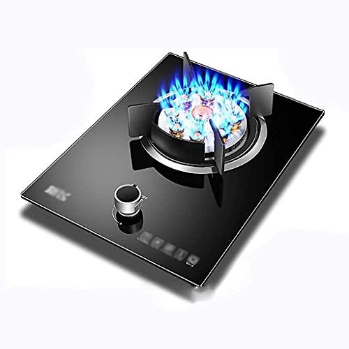 LITINGT Nueva Cocina de Gas de sobremesa/Cocina Individual empotrada, con Control de Temperatura y protección contra Llamas, para Calentar, cocinar, hervir, freír, hervir a Fuego Lento [Clase ener