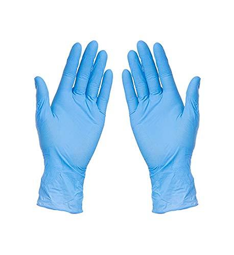 Hederocare Nitrilhandschuhe L 100 Stück | Einweghandschuhe | Nitril-Handschuhe | puderfrei & unsteril