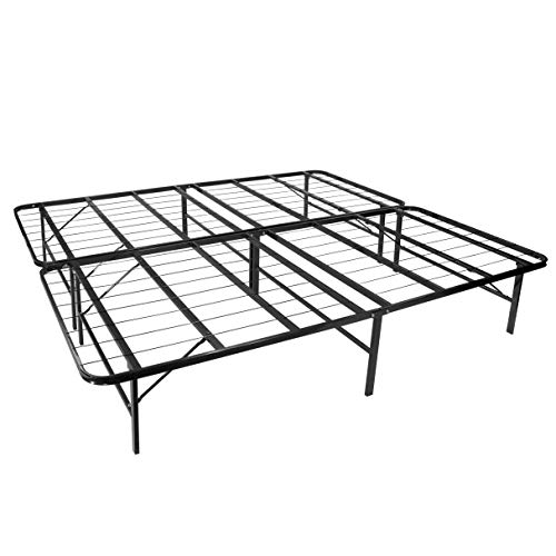 MOG/i-Flair Gästebett 160x200 cm Faltbett Klappbett klappbar aus stabilem Metall – alle Größen