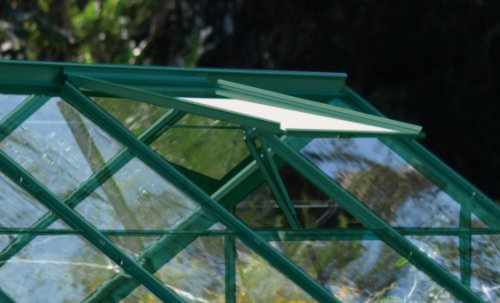 Preisvergleich Produktbild Alu-Dachfenster für Calypso,  grün,  ohne Glas