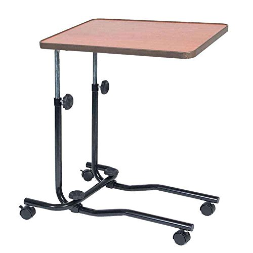 NRS Healthcare M15691 Table de Chevet/Chaise de Bureau Portative - Inclinable - Réglable et à...