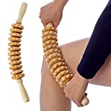 Best Cellulite Rollers - Hovom Wood Therapy Roller Massage Tool, Lymphatic Drainage,maderoterapia Review