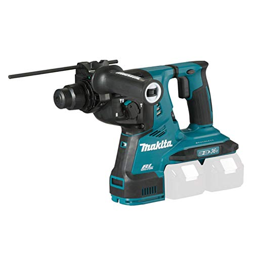Makita DHR280Z DHR280Z-Martillo perforador (28 mm, sin escobillas, 2 x 18 V, 36 V, Ion de Litio, para SDS-Plus Solo, sin batería, sin...