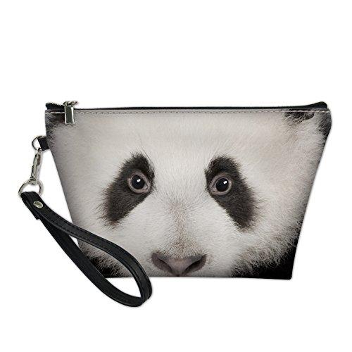 Hugs Idea Mode Animal Femme Portable Poignée Sac Cosmétique