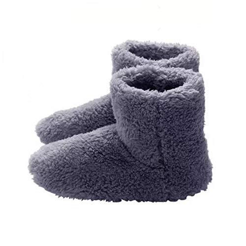 tJexePYK Climatizada Zapatillas Calientes USB Calefacción Zapatillas de Invierno Plantillas de Calentamiento para Buena Noche de sueño 5V Calentador