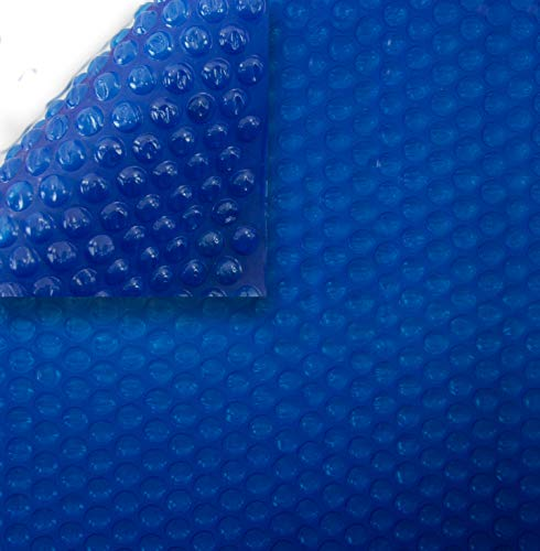 16' x 32' rectangular blue solar cover for above ground or inground swimming pools   1600 series