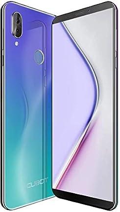CUBOT X19S 4G Smartphone Libre Android 9.0 Teléfono móvil sin contactos 5,93 Pulgadas FHD+(2160x1080px) Dual Sim 32GB ROM 4GB RAM Dual Cámara Octa-Core Procesador WiFi GPS 4000mAh (Aurora)