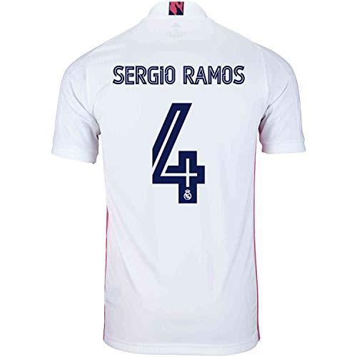 Sergio Ramos #4 Real Madrid Home Jersey 20-21 (S) White