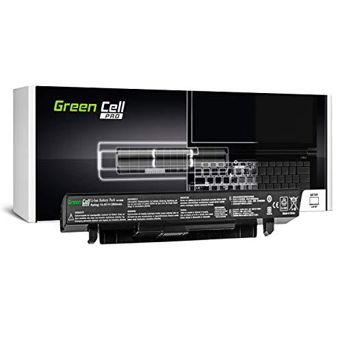 Green Cell PRO Serie A41-X550A Batería para ASUS X550 X550C X550CA X550CC X550CL X550E X550L X550LN X550V X550VB X550VC X550VL Ordenador (Las Celdas Originales Samsung SDI, 4 Celdas, 2600mAh, Negro)